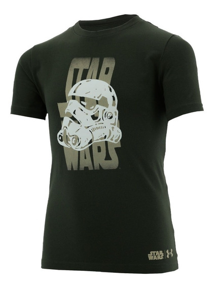 Playera Star Wars Trooper Back Niño Under Armour Ua2794