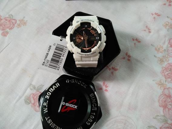 Casio G-shock Ga-110 1dr Branco!