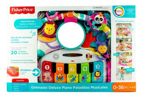 Fisher Price Gimnasio Piano Pataditas Musicales Rosa