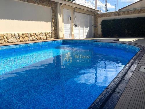 Casa Com 4 Dormitórios À Venda, 340 M² Por R$ 1.800.000,00 - Balneário Flórida - Praia Grande/sp - Ca0144