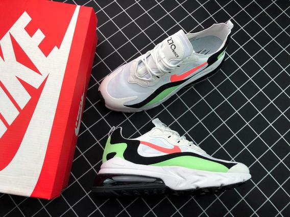 Zapatillas Nike React Air Max Max270 Grenn Electr