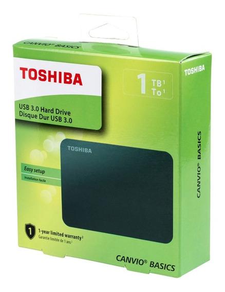 Disco Duro Externo 1tb Portatil Canvio Basics 2.5 In Toshiba