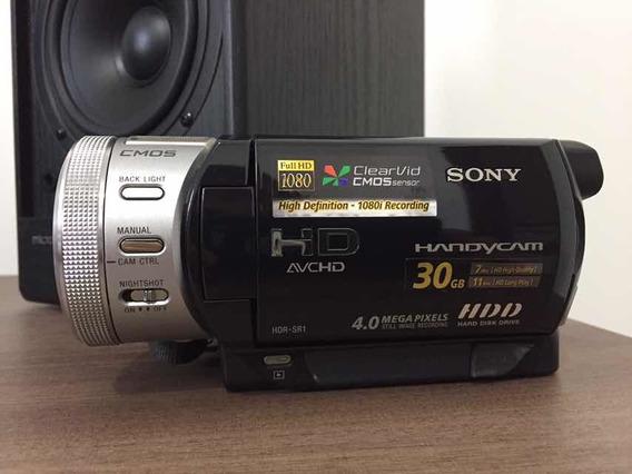 Câmera Filmadora Sony Handycam Full Hd 1080 30gb Hdr Sr1