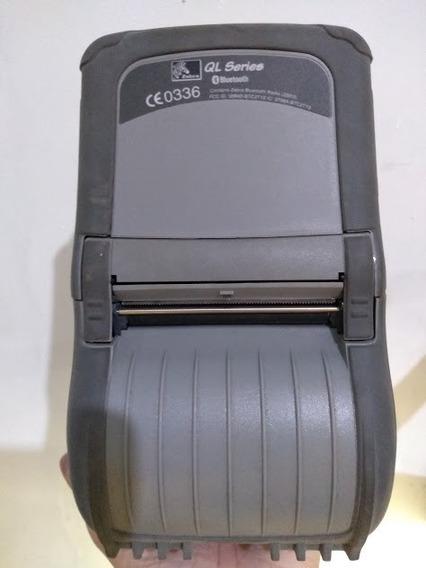 Impressora De Etiquetas Portátil Zebra Ql320 - Defeito