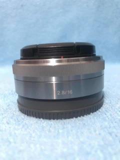 Lente Sony 16mm 2.8 Aps-c Montura E