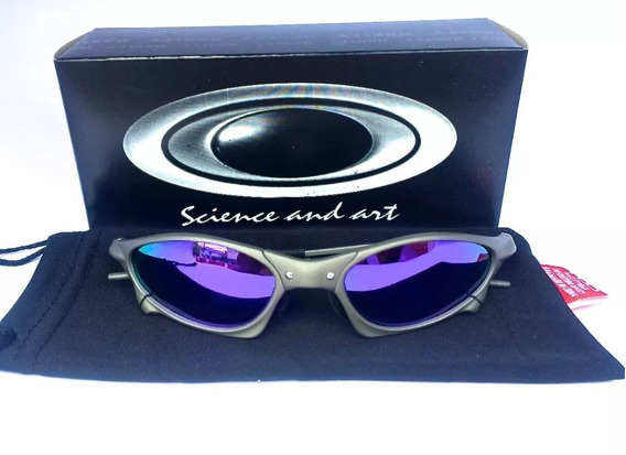 Óculos Oakley Juliet Penny Roxa Metal Polarizado Promoção!!!