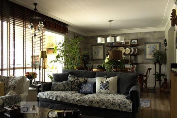 Apartamento No 1º Andar Mobiliado Com 3 Dormitórios E 2 Garagens - Id: 892967597 - 267597