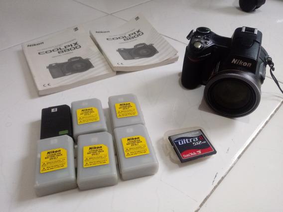 Câmera Nikon Coolpix 8800 Quebrada