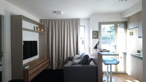 Imagem 1 de 24 de Apartamento Charmoso Para Locação Em Pinheiros I 1 Suíte I Lavabo I Cozinha Completa I 1 Vaga I 44m² - Ap1248