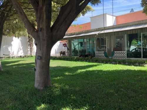 Casa Sola De Un Nivel En Burgos, Al Sur De Cuernavaca