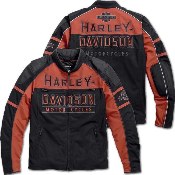 4xl - Black - Chamarra Harley-davidson Gastone