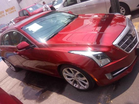 Cadillac Ats Sedan Premium C 2016 Rojo