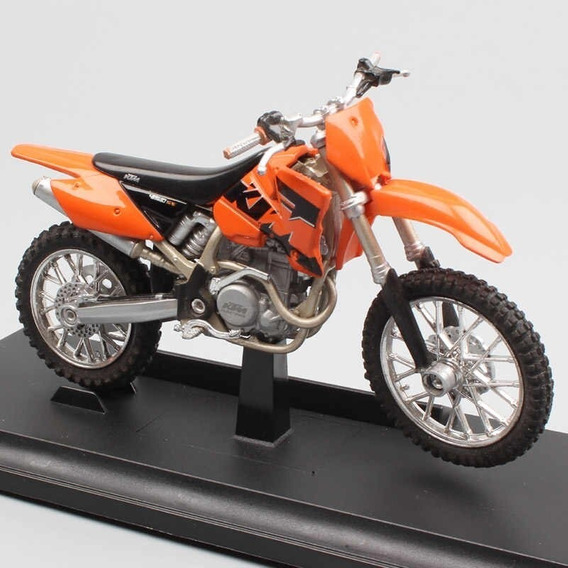 Moto Ktm 450 Sx Racing Escala 1:18 Welly Rosario