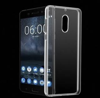 Capinha Anti Shock Case Transparente Nokia 6 Tela 5.5