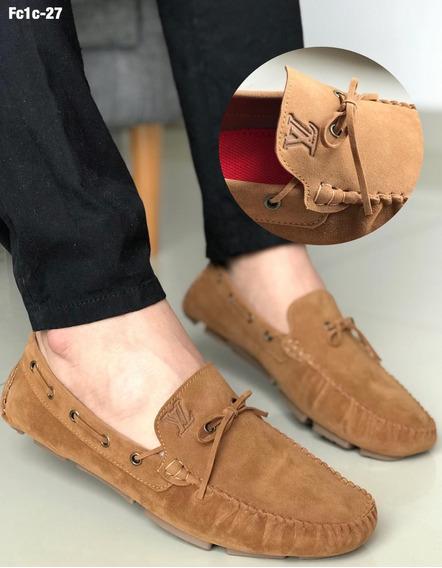 Zapatos Mocasin Caballero Gamuza Envio Gratis