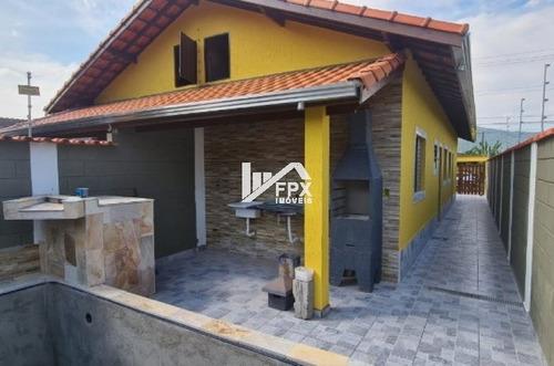 Casa Nova Itanhaém Com 02 Dormitórios E Piscina  - Ca275-f