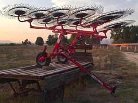 Tractor Agricola Rastrillos De 8,10,12 Soles Flexible Nuevo