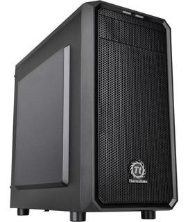 Gabinete Gamer Thermaltake Versa H15 Black Micro Atx Fan 120