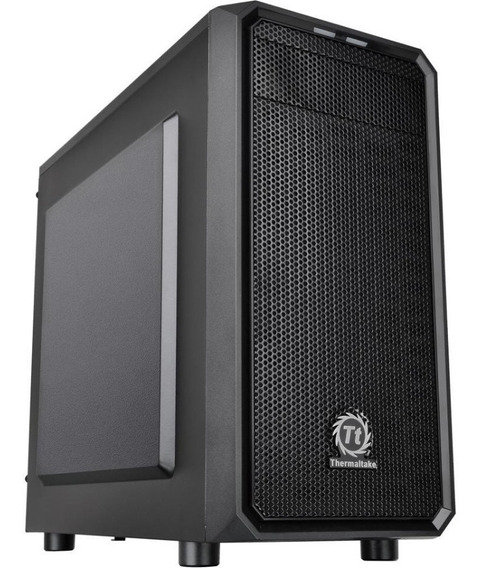 Gabinete Gamer Thermaltake Versa H15 Black Micro Atx Fan 120