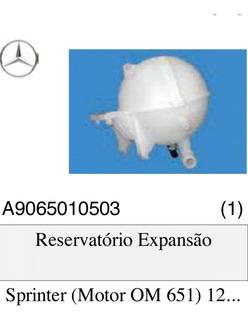 Reservatório Expansão Água Sprinter Om 651 A Partir 2012