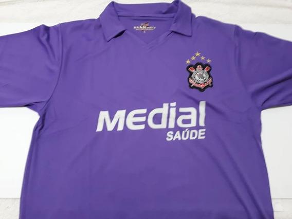 Camiseta Corinthians Roxa Temporada 2008 Numero 10
