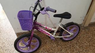 Bicicleta Futura Rodado 16 Nena