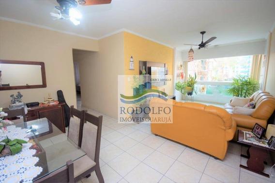 Guarujá Astúrias, 2 Dormitórios Sendo 1 Suite Mais Dependência, 1 Vaga Box. - Ap0845