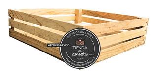Huacal De Madera 30x 30 Cm. Decorativo, Cajas De Madera