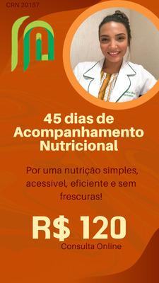 Acompanhamento Nutricional Online