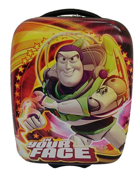 Maleta Infantil Buzz Light Toy Story Baston Petaca Mochila