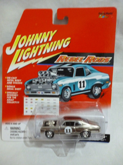 Johnny Lightning 1969 Chevy Nova Ss Boss A Nova - J P Cars