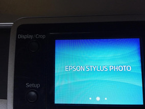 Impressora Epson R380 Usada Error