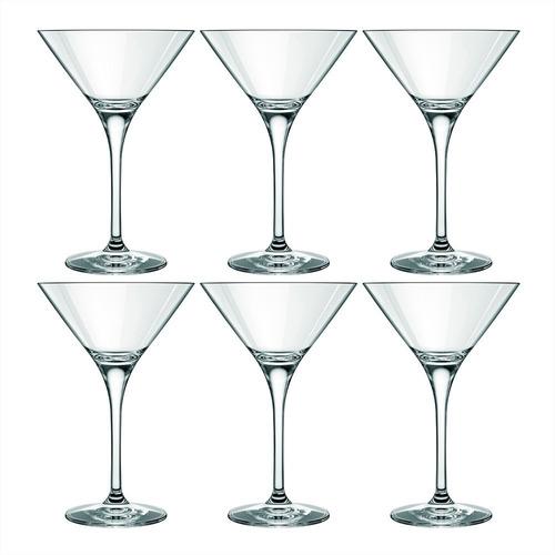 Copa Martini Nadir Cristal 240 Ml X 6 Unid.