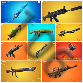 Fortnite Salvar El Mundo: Armas Nivel 106