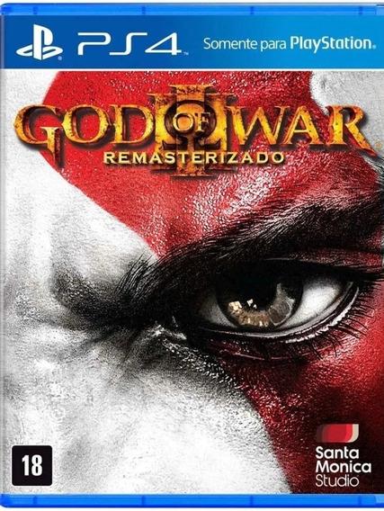 God Of War 3 Remasterizado PlaystationMídia Física