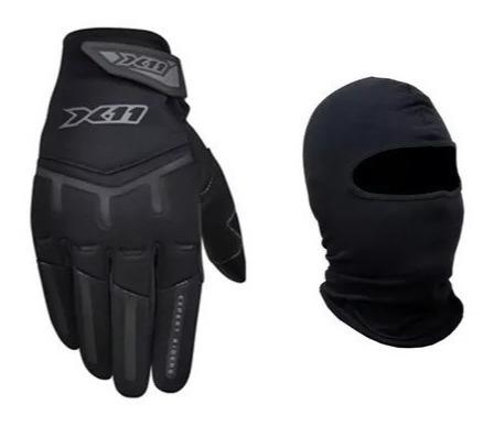 Luva X11 Fit X Motoqueiro Motociclista Masculina Ou Feminina