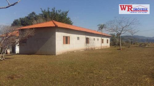 Chácara Com 4 Dormitórios À Venda, 31000 M² Por R$ 372.000,00 - Zona Rural - Porangaba/sp - Ch0036