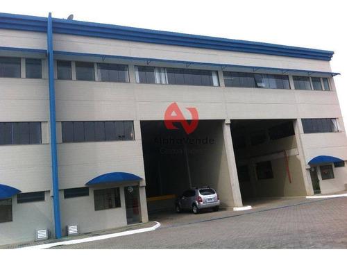 Galpão Comercial Para Locação, Tamboré Polo Empresarial, Santana De Parnaíba - Ga0720. - Ga0720