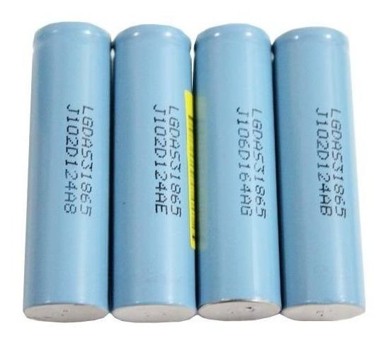 Kit 5 Pçs Bateria 18650 Lg Lgdas31865 1500mah