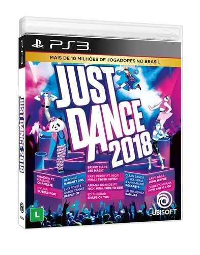 Just Dance 2018 - Ps3 Mídia Física Lacrado