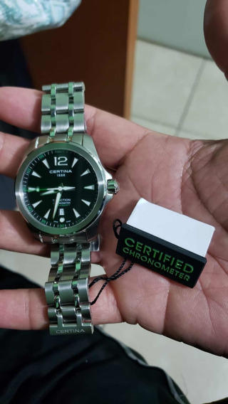 Reloj Certina Ds Chronometer Movimiento De Cuarzo