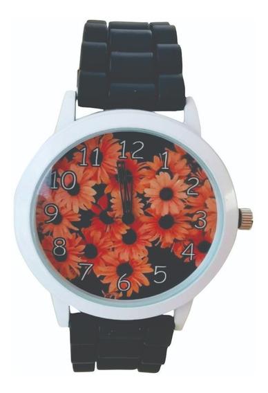 Reloj Dama Mujer Girasol Moda