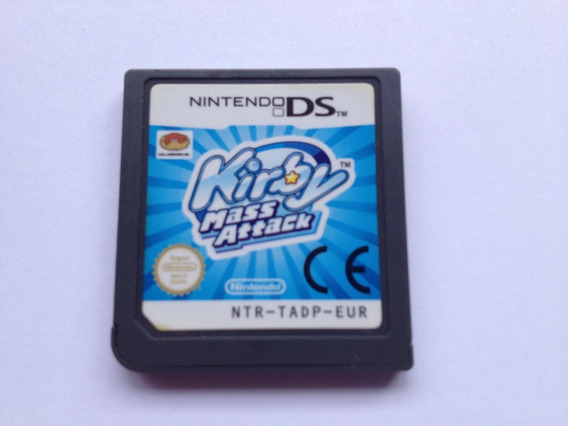 Kirby Mass Attack Nintendo Ds 2ds 3ds
