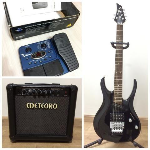Guitarra, Amplificador E Pedaleira