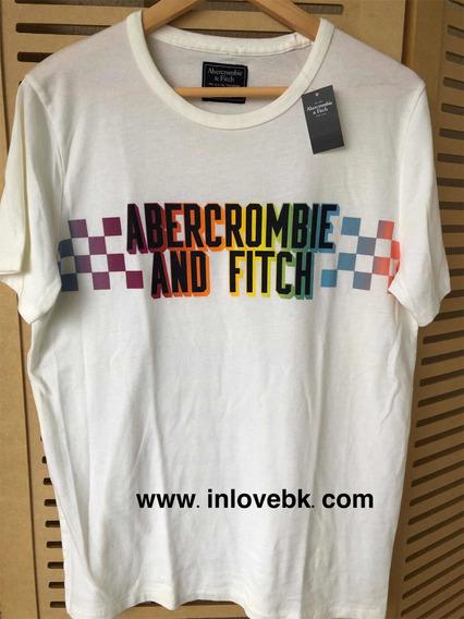 Camiseta Original Abercrombie Importada Masculina