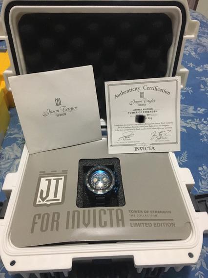Relogio Invicta Jason Taylor Original Com Certificado M22271