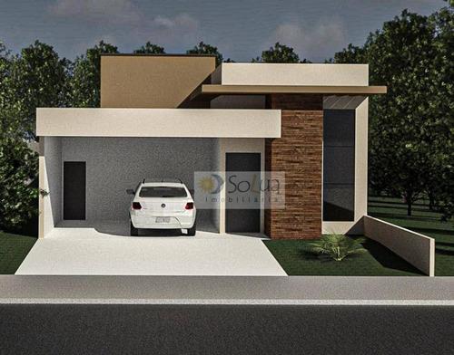 Imagem 1 de 7 de Casa Com 3 Dormitórios À Venda, 157 M² Por R$ 720.000,00 - Parque Olívio Franceschini - Hortolândia/sp - Ca0848
