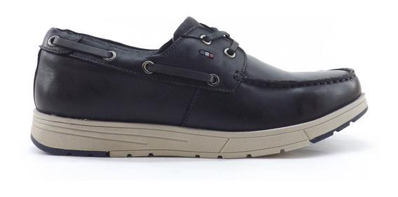 Zapatos Storkman Norberto Nautico Acordonado Hombre Livianos