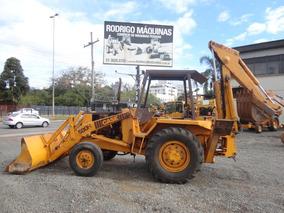 Retroescavadeira Case 580h 4x2 - 1988