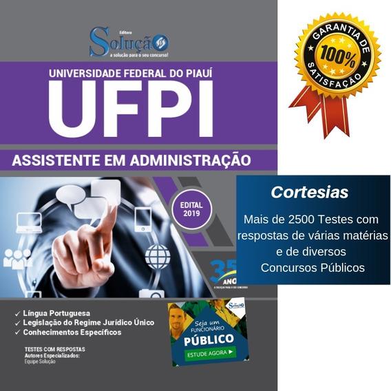 Apostila Ufpi 2019 - Assistente Em Administração - Piauí